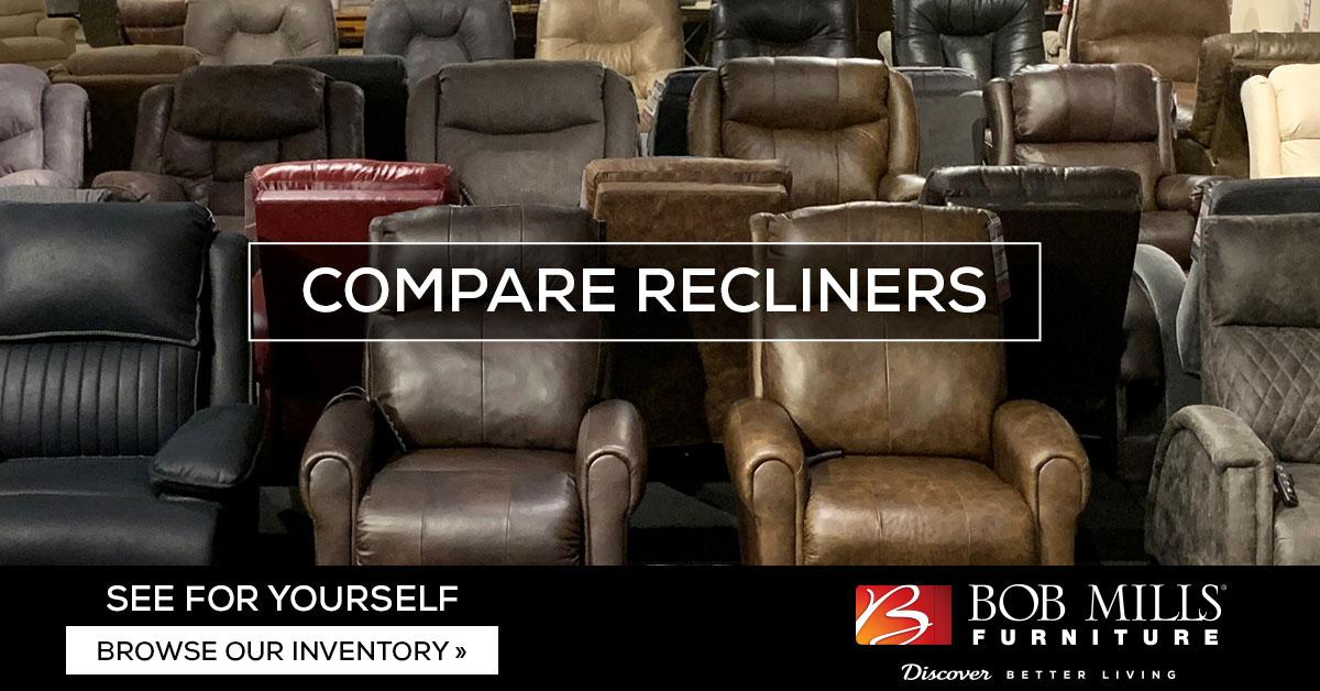 La Z Boy Recliners Vs Flexsteel How Do I Choose Bob Mills Furniture